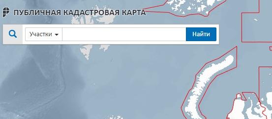 Поиск на кадастровой карте