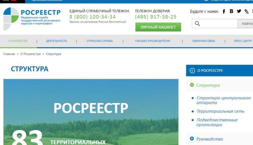 Сайт Росреестра Тульской области